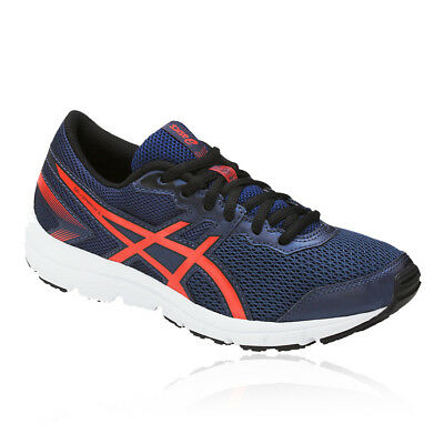 Asics Boys Girls GEL-ZARACA 5 GS Junior Running Shoes Trainers Sneakers Blue