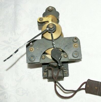 Antique NATIONAL TIME RECORDER Electric Clock Movement, Spares/Repair