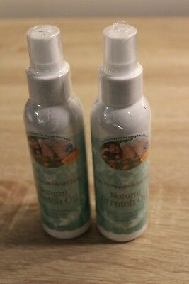 (Lot of 2) Earth Mama Angel Baby Natural Stretch Oil - 4 oz. each bottle