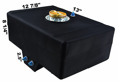Racerdirect.net 5 Gallon Racing Fuel Cell With Sump D Ring Cap