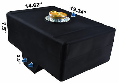Racerdirect.net 8 Gallon Racing Fuel Cell With Sump D Ring Cap