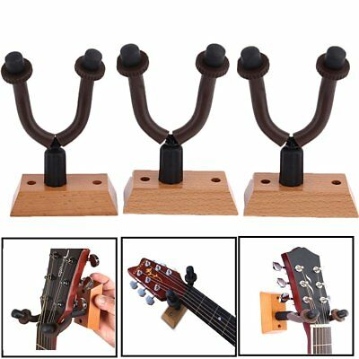 3 -300 PCS Guitar Hangers Hook Holder Wall Mount Display Instrument For All Size