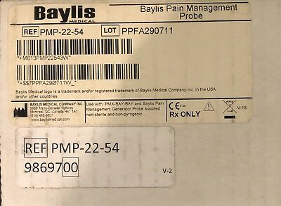 Baylis Medical #PMP-22-54. - Baylis Pian Management Probe
