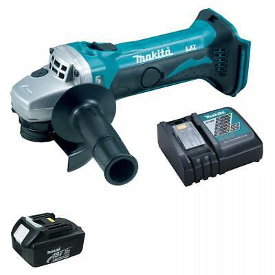 Makita Dga452 18V Lxt Grinder 115Mm With Bl1830 Battery & Dc18Rc Charger New