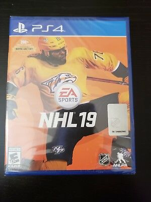 NHL 19 (PLAYSTATION 4, PS4) brand new factory sealed.