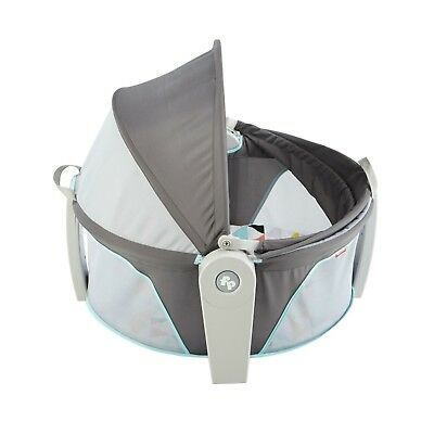 Fisher-Price On-The-Go Baby Dome Tent Shade Play Area GREY