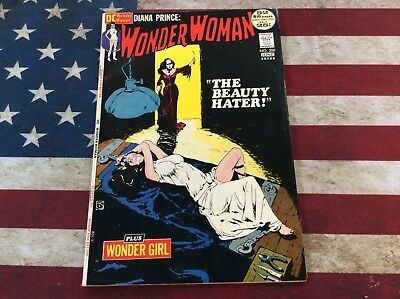 DC Comics Bronze Age Wonder Woman #200 1972 Beauty Hater See Pics!