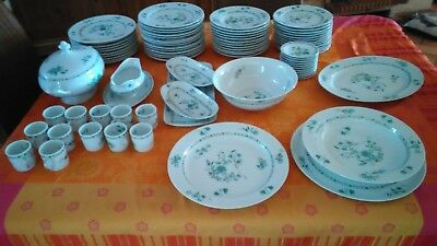 48 pieces bernardaud limoges collection Pekin