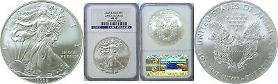 2009 American Silver Eagle NGC MS 69 Early Releases