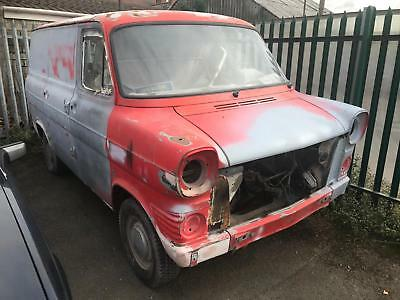 Ford Transit mk1 1971 PROJECT BARN FIND RARE MODEL