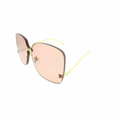 df31f8cc15 GUCCI WOMEN S GG0352S GG 0352 S 003 Gold Fashion Square Sunglasses ...