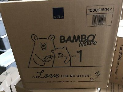 Bambo Nature Diapers Size 1 Case