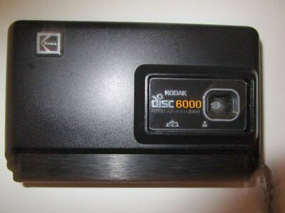 Vintage Kodak Disc 6000 Camera with Case – 1982