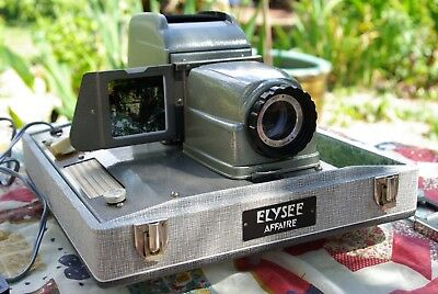 Slide projector 6x6 and 35mm ( Elysee Affair )