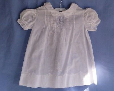 VINTAGE Little Girl DRESS Cotton SIZE 1