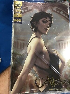Catwoman 3 Gold Foil Variant NM- Keystone Comic Con, In Hand