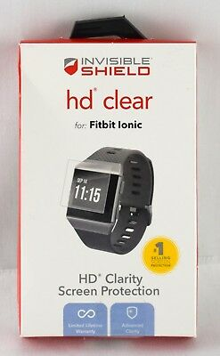ZAGG - InvisibleShield HD Clear Screen Protector for Fitbit Ionic | 3660sw