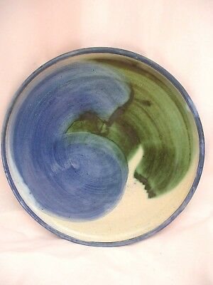 Hand Made Welsh Studio Pottery Plate