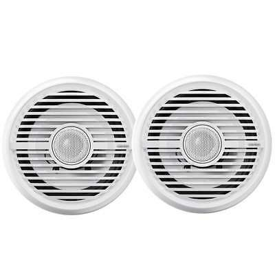 """Clarion 6.5"""" Water Resistant Coax Speakers 100w #CMG1622R"""
