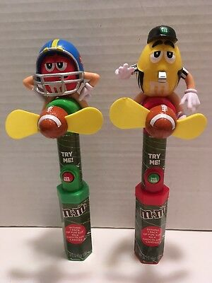 M&M's 2018 Football & Referee Candy Fans New With Candy hard To Find