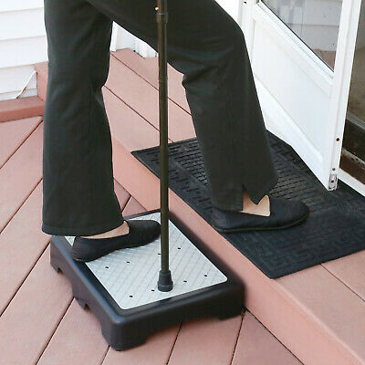 "Support Plus Indoor/Outdoor 3 1/2"" High Riser Step -Non-Slip All Weather"