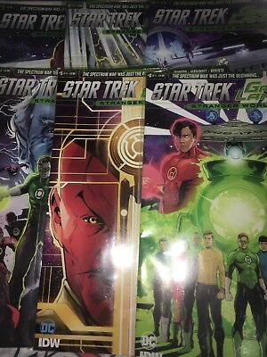 Star Trek Green Lantern 1-6