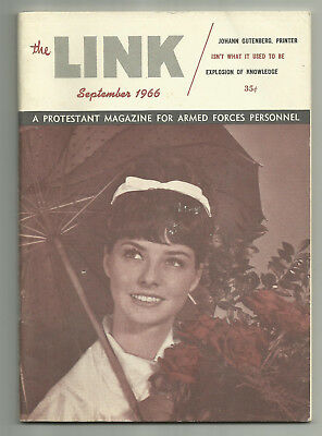 The Link - A Protestant Magazine For Armed Forces Personnel Vol 24 # 9 Sep 1966