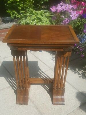 Antique Victorian Mahogany Quartet Nest of Tables