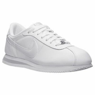 competitive price 480f7 ceff9 NEW NIKE ORIGINAL Cortez Leather 316418-113 White / Grey Shoes Men