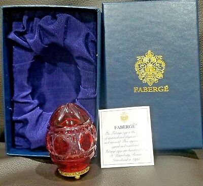 Faberge Egg Made in St. Petersburg