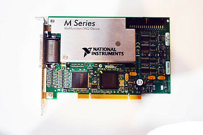 National Instruments NI PCI-6259 16-Bit, 1 MS/s (Multichannel), 1.25 ms/s