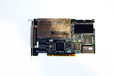 National Instruments Ni PCI-MIO-16XE-10 Hochauflösend Multifunktion I/O Karte