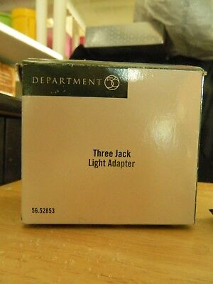 Dept. 56 Village Accessory 3 Jack Light Adapter