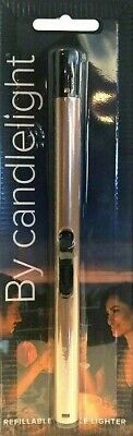 Prices Candle Gas Hob Stove Cooker BBQ Lighter Silver Long Flame Refillable New