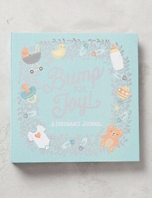 Bump For Joy! A Pregnancy Journal * Baby Keepsake * By Studio Oh!