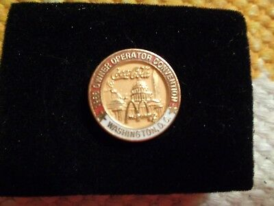 1988 Coca-Cola/McDonald's Owner Operator Convention pin, Washington, D.C.