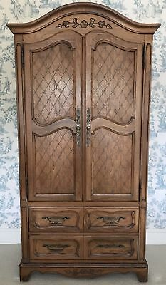 French Shabby Chic Wardrobe Armoire