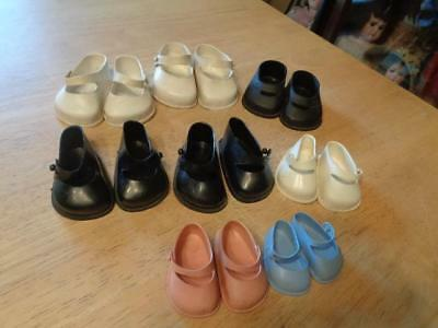 8 Pair Of Vintage Mary Jane Doll Shoes~USED~#2