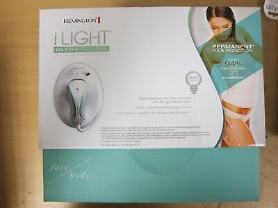 NEW Remington iLIGHT Ultra Face & Body Hair Removal System