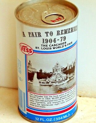 Vess Grape; Vess Limited; Maryland Heights, MO; Steel Soda Pop Can