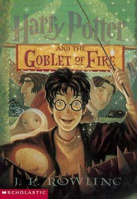 Harry Potter: Harry Potter and the Goblet of Fire 4 by J. K. Rowling (2000, Cass