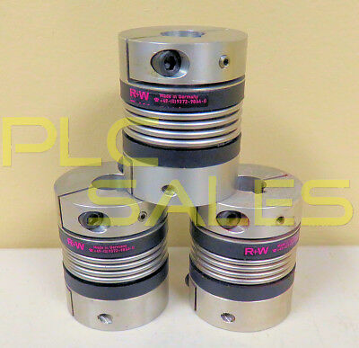 Quantity 3 x R+W Motor BK Bellows Couplings for Servo Motors  |  12MM, 18MM