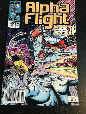 Alpha Flight#66 Incredible Condition 9.2(1989)