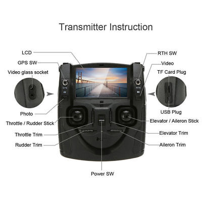 Hubsan X4 H501S-15 FPV Remote Transmitter for RC Drone H501S H502S H501A USA