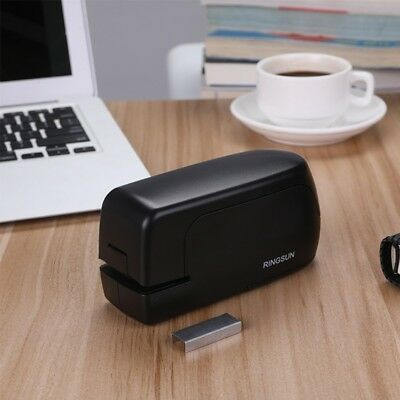 Automatic Desktop Electric School Office Stapler Book Sewer New Without Charger