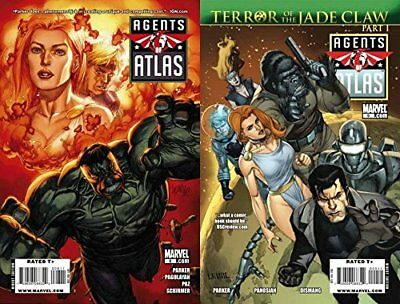 Agents of Atlas #8-9 (2009) Marvel Comics - 2 Comics