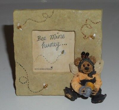 Boyds Bears Mini Picture Frame Bumble Bee - Bee Mine Huney - No box