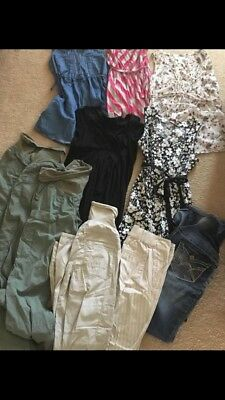 Maternity Clothing Lot Sm/xsmall (shirts/dresses/pants)- Most Barely Worn!!