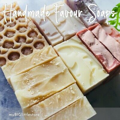 Bulk Handmade Natural Guest or Favour Soaps with Essential Oils