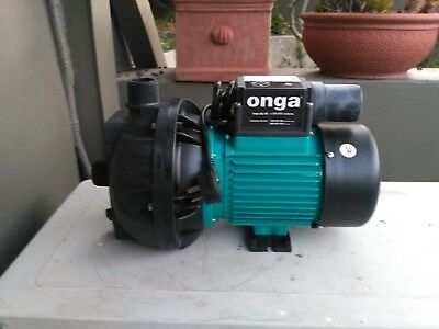 ONGA water pump model 112-1,1.10kw single phase brand new in the box, laboratory